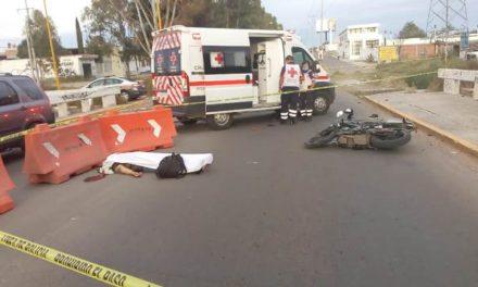 ¡Hombre falleció tras accidentarse en su motocicleta en Aguascalientes!