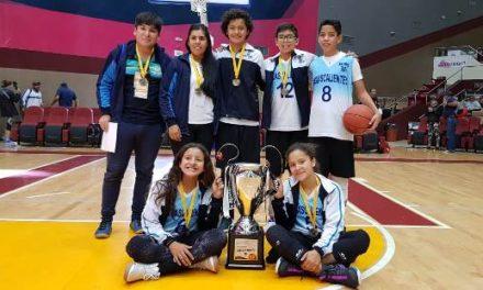 "¡Aguascalientes subcampeón en Torneo Nacional de Baloncesto 3×3 ""Muévete"" de CONADE!"