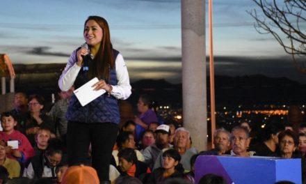 ¡Tere Jiménez continúa haciendo obra pública de calidad para las familias del Corazón de México!
