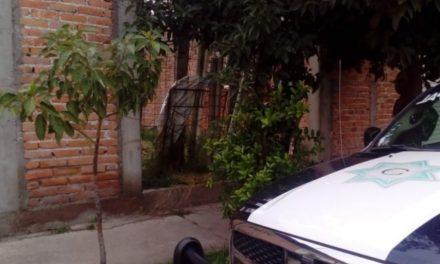 ¡Encontraron muerto a un hombre en un lote baldío en Cosío, Aguascalientes!