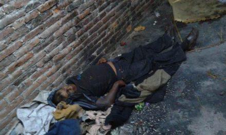 """¡""""El Chilango"""", alcohólico crónico, fue hallado muerto en un baldío en Aguascalientes!"""