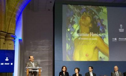 ¡Aguascalientes presenta libro de Saturnino Herrán en la CDMX!
