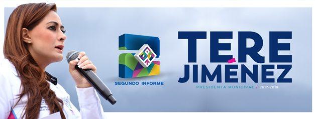 ¡Lleva Tere Jiménez su segundo informe de actividades a colonias y fraccionamientos de nuestra ciudad!