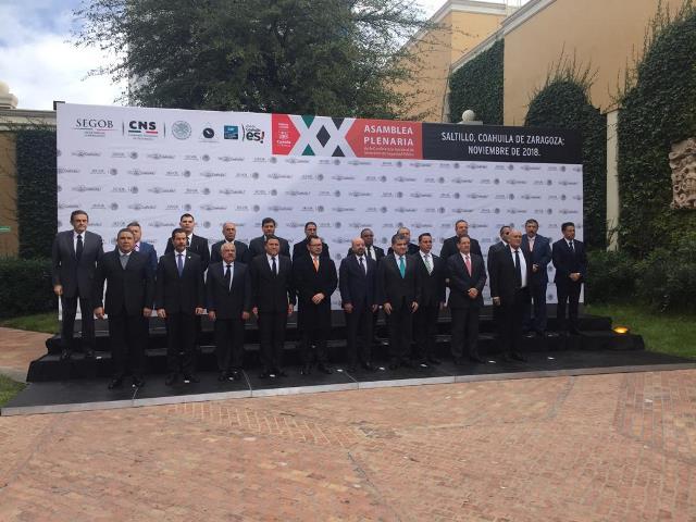 ¡Participa la SSPE en la XX Asamblea Plenaria de la Conferencia Nacional de Secretarios de Seguridad Pública!