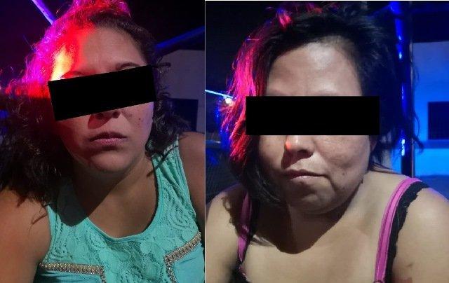 ¡Detuvieron a 2 mujeres que agredieron a un joven y dañaron sus vehículos en Aguascalientes!