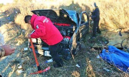¡Trágico accidente de estudiantes de Zacatecas en Durango: 1 muerto y 4 lesionados!