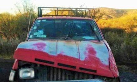 ¡Hombre de la tercera edad murió tras la volcadura de su camioneta en Jerez!
