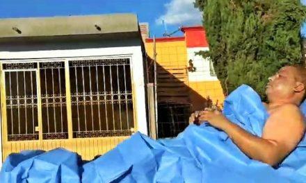 """¡Hombre sufrió quemaduras graves tras un """"flamazo"""" en su casa en Aguascalientes!"""