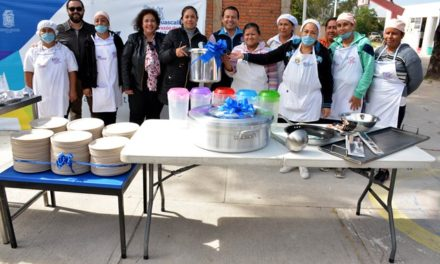 ¡Fortalece Municipio de Aguascalientes comedores escolares y comunitarios para más de 13 mil personas!