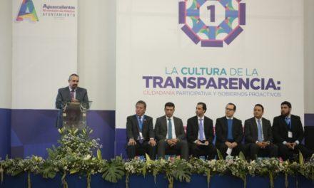 ¡Concluye con éxito Primer Congreso Municipal de Transparencia!