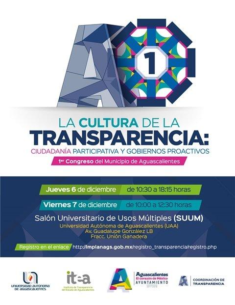 ¡El Corazón de México será sede del Primer Congreso Municipal de Transparencia!
