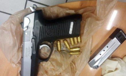 ¡Detiene PEP en Fresnillo a un joven en posesión de un arma de fuego corta!