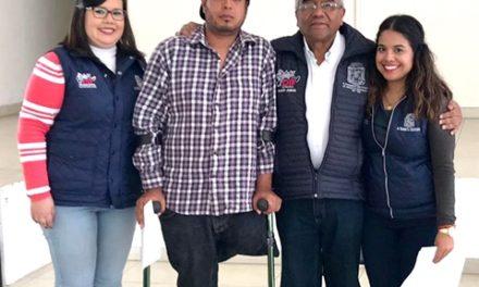 ¡DIF Municipal de Aguascalientes apoya a personas con discapacidad a salir adelante!