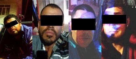 ¡Capturaron a 4 sujetos que realizaron una balacera en Aguascalientes!