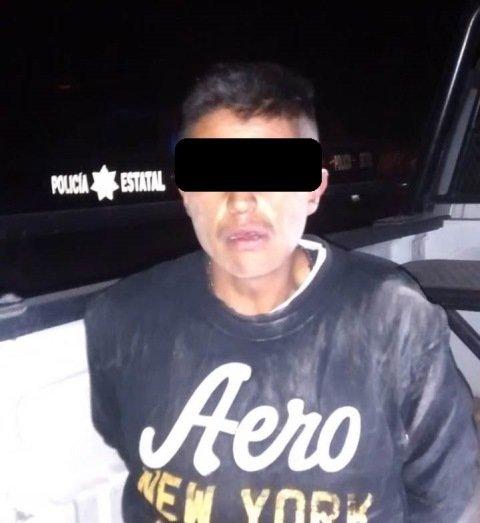¡Tras persecución que inició en Zacatecas y concluyó en Aguascalientes detuvieron a un vendedor de drogas!