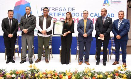 ¡Administración de Tere Jiménez sirve a la ciudadanía con procesos de calidad internacional!