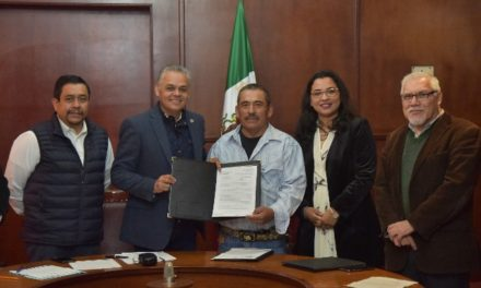 ¡Formalizan lazos de colaboración para el cuidado del medio ambiente el Gobierno Municipal y ladrilleros de Jesús María!