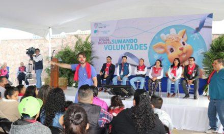 ¡Voluntariado del ISSEA suma esfuerzos por una niñez sana y feliz!