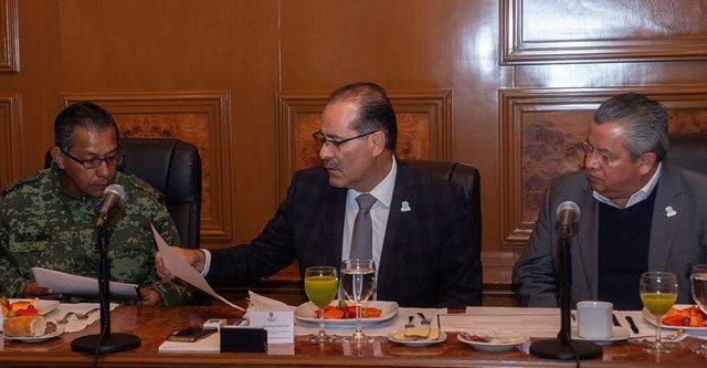¡Instala gobernador Martín Orozco Comité de Coordinación Estatal para la Construcción de la Paz!