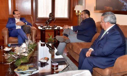 ¡Se reúne el gobernador Martín Orozco Sandoval con Aldo Ruiz Sánchez!