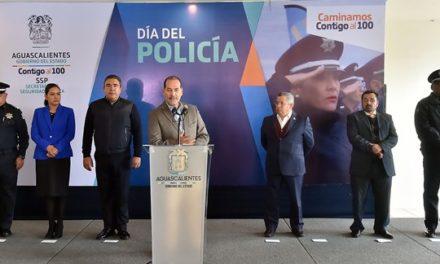 ¡Reconoce el gobernador a los elementos de Seguridad Pública del Estado en el Día del Policía!