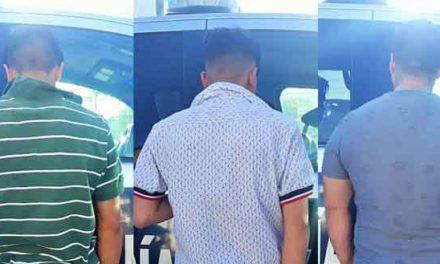 ¡Policías municipales capturan a una banda de asaltantes en Aguascalientes!