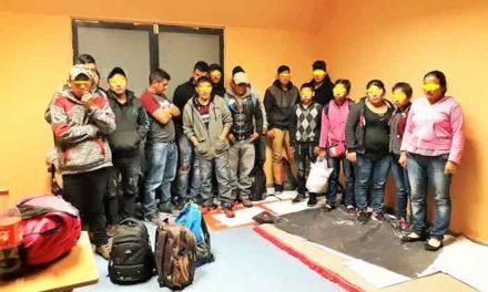¡Aseguran a 17 guatemaltecos en Aguascalientes!