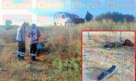 "¡Joven motociclista murió embestido por un auto ""fantasma"" en Lagos de Moreno!"