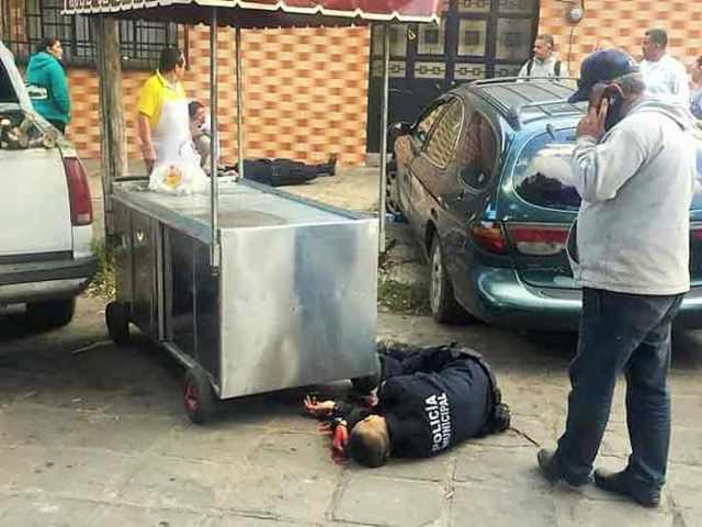 ¡Ejecutaron a 2 policías municipales de Guadalupe durante un recorrido de vigilancia!