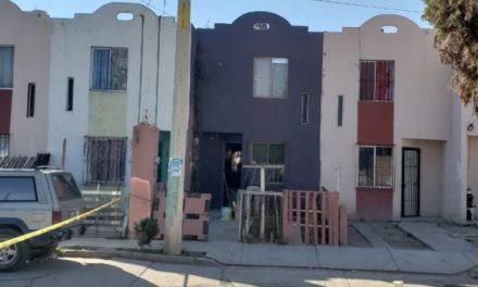 ¡Sujetos balearon una casa en Aguascalientes y dejaron una cartulina con un narco-mensaje!
