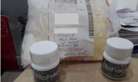 ¡Decomisan ISSEA y Policía Federal clenbuterol en pastillas en el aeropuerto de Aguascalientes!