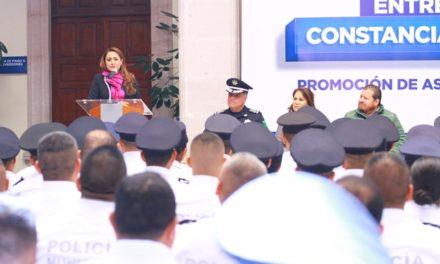 ¡Policía Municipal de Aguascalientes reconoce profesionalismo de sus elementos!