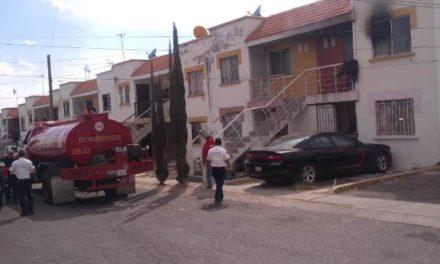 ¡Sujeto discutió con su esposa y le prendió fuego a su casa en Aguascalientes!