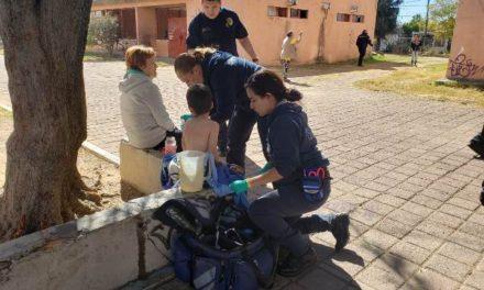 ¡Niño de 6 años de edad resultó quemado tras incendiarse su casa en Aguascalientes!