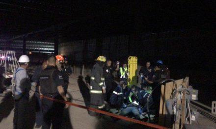 ¡Joven se salvó de morir electrocutado en la construcción de ampliación del Centro Comercial Altaria en Aguascalientes!