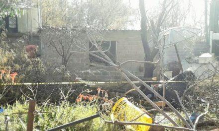 ¡Hombre murió tras incendiarse una casa en Zacatecas!