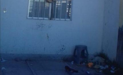 ¡2 niños que estaban en la azotea de una casa en Aguascalientes fueron rescatados por policías!