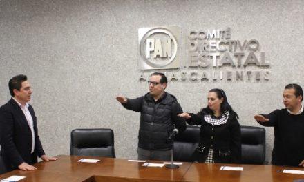 ¡Instala PAN Comisión Organizadora Electoral Estatal!