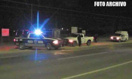 ¡Mujer murió atropellada por un auto en la autopista en Fresnillo!