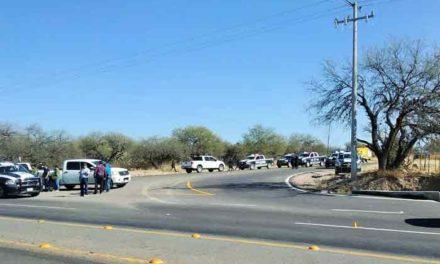 ¡Cae abatido delincuente zacatecano luego de asaltar una gasolinera en Aguascalientes!