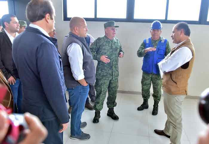 ¡Cumple Gobierno compromiso para la construcción del cuartel para Batallón de Infantería en SJL!