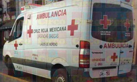 ¡Bebé murió por falta de personal en la base de la Cruz Roja en Lagos de Moreno!