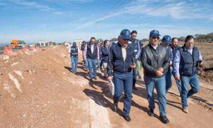 ¡Supervisó el Gobernador obras de infraestructura vial con una inversión de más de 125 MDP!