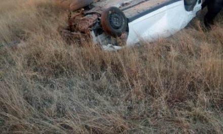 ¡3 muertos y 1 lesionado tras la volcadura de un automóvil en Aguascalientes!