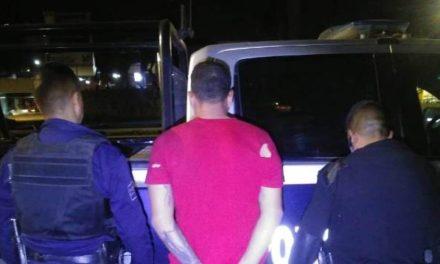 ¡Asaltante fue detenido por policías estatales de Aguascalientes y municipales de San Francisco de los Romo!