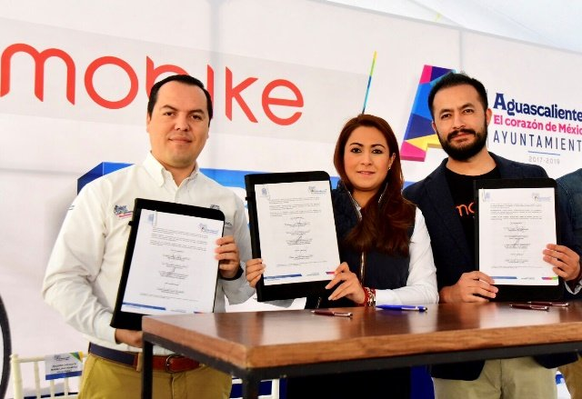 """¡""""Aguascalientes, tercera ciudad en América Latina en contar con el servicio de Mobike"""": Tere Jiménez!"""