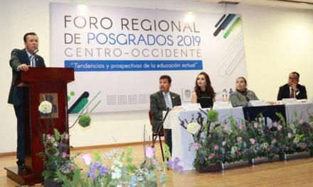 ¡Aguascalientes sede del Segundo Foro Regional de Posgrados 2019 Universidad Pedagógica Nacional!