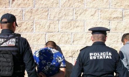 """¡Capturaron a 2 distribuidores de drogas con un kilo de """"crystal"""" en Aguascalientes!"""