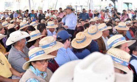 ¡Destina Gobierno del Estado más de 200 millones de pesos para programas que darán impulso al campo y a productores locales!