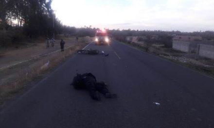 """¡Motociclista de Zacatecas falleció embestido por un auto """"fantasma"""" en Aguascalientes!"""